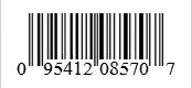 Barcode: 095412085707