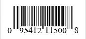Barcode: 095412115008
