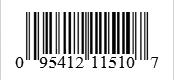 Barcode: 095412115107