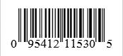 Barcode: 095412115305