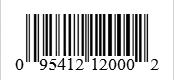 Barcode: 095412120002