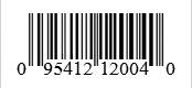 Barcode: 095412120040