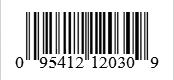Barcode: 095412120309