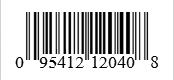 Barcode: 095412120408