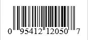Barcode: 095412121504
