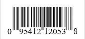 Barcode: 095412120538