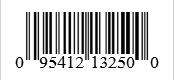 Barcode: 095412132500