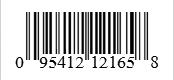 Barcode: 095412121658