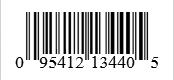 Barcode: 095412134405